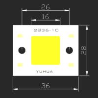 YUHUA 太阳能路灯COB光源  太阳能投光灯COB光源 YH2836-10