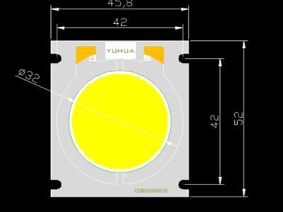 YUHUA COB定制 YH4652-150产品(大功率) 高光效光源 路灯 投光灯 体育照明