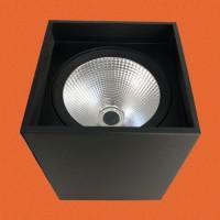 炜圣照明 9W12W15W COB铁材明装射灯筒灯室内商照
