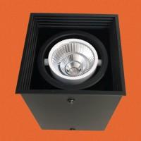 炜圣照明 5W7W9W12W射灯 MR16铁材明装射灯筒灯室内商照角度24°