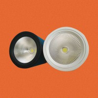 """炜圣照明 10W12W15W18W 4寸""""COB圆形筒灯"""