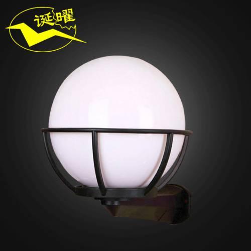 厂家定制圆形亚克力工矿灯台灯吊灯花篮节能壁灯防爆防水灯罩