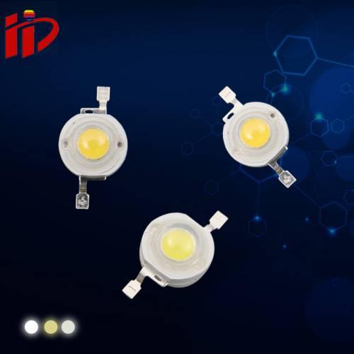 LED 1w/3w仿流明大功率灯珠高亮普瑞灯珠晶元大功率灯珠厂家直销