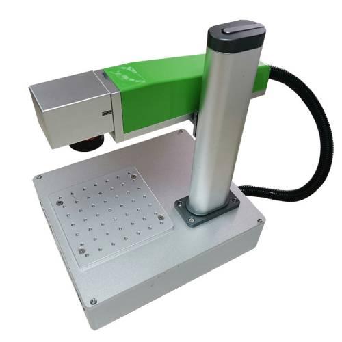 五金打码不锈钢可乐刻字台式金属铭牌二维码小型光纤激光打标机