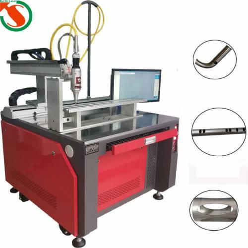不锈钢管铁管直管弯管掏孔机  幅面可定制小型金属切割机