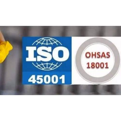 广东省内企业职业健康安全18001旧版转新版iso45001
