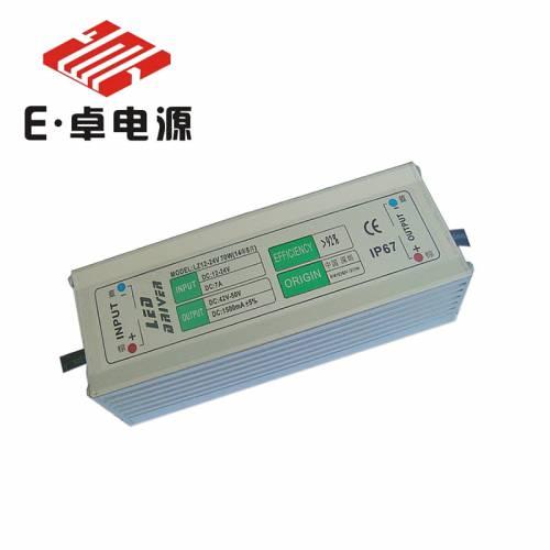 深圳力卓电源直销 升压DC12-24V70W14串5并LED防水太阳能路灯电源