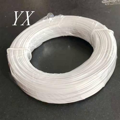厂家直销PVC绑扎带绑丝电镀锌扎丝 包塑铁丝 铁芯扎线 电线围栏扎