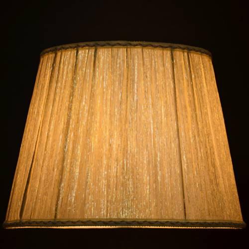 外贸出口加工现代简约布艺大台灯罩 欧式高档流星点乱折落地灯罩