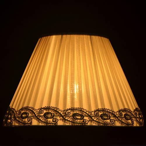 铁艺大小灯罩 台灯落地灯灯罩定做 布艺欧式e27麻布各种布罩子