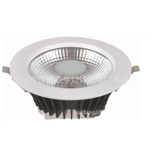 最新款筒灯外壳 散热王COB筒灯配件 高端产品LED筒灯