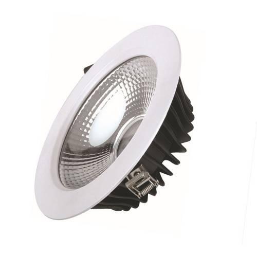 私模压铸LED筒灯外壳 COB筒灯套件 分体筒灯配件 天花灯外壳8寸