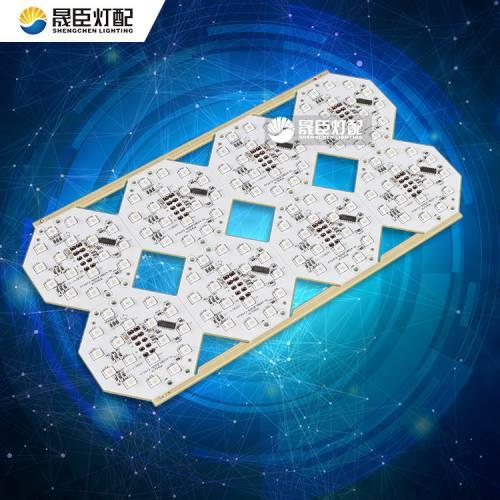 点光源半成品 72-72MM点光源半成品DC24V 5W点光源配件加工DMX512