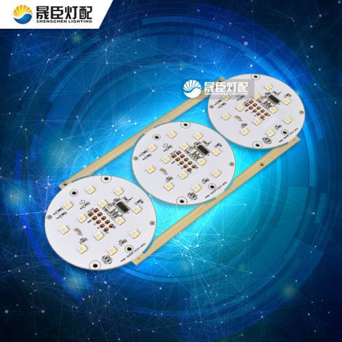 外控点光源灯板 DMX512模组3W12珠5050 RGBW四色外控点光源灯板