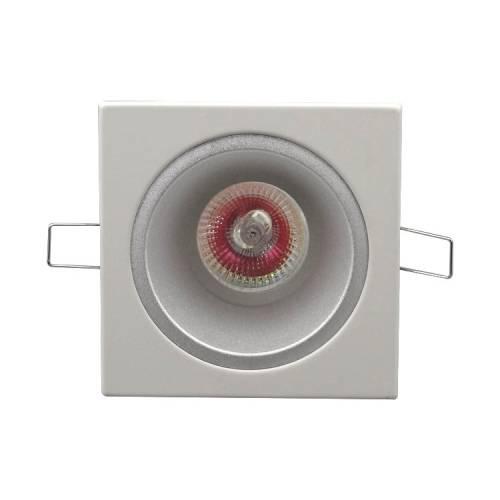 厂家直销方面铁白沙杯MR16可调嵌入式射灯LED灯杯GU10天花灯套件