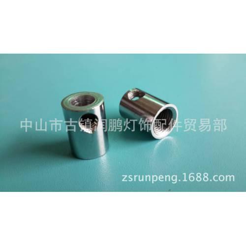 欧规内牙301线扣10mm内牙铁扣电线固定卡线器 金属镀镍锁线扣