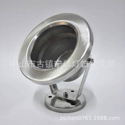 5W6W7W水底灯外壳套件、圆形120mm面盖无螺丝水底灯外壳
