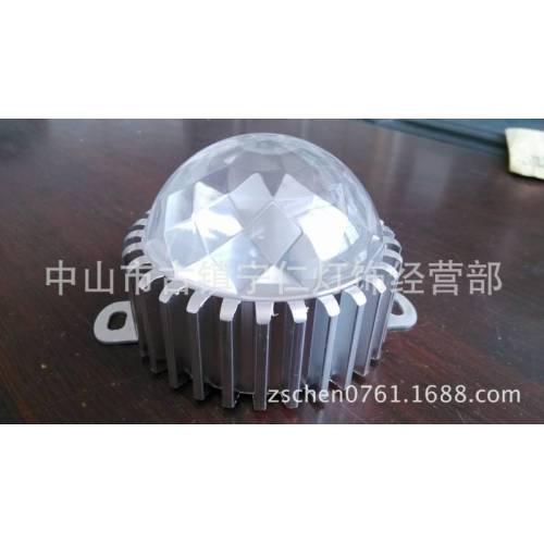 圆100车铝点光源外壳、LED点光源铝外壳、大/小功率点光源外壳