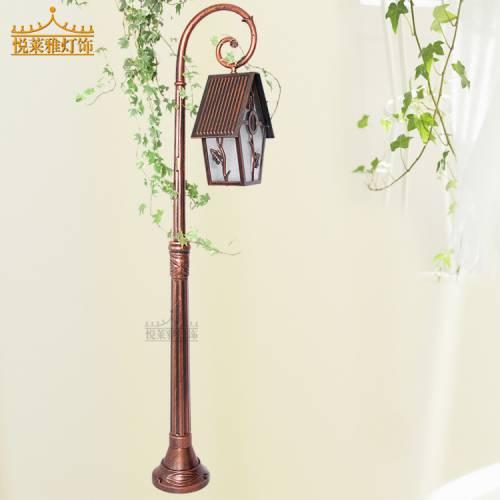 现代田园草坪灯户外小区公园花园灯美式乡村家居专用庭院装饰灯具