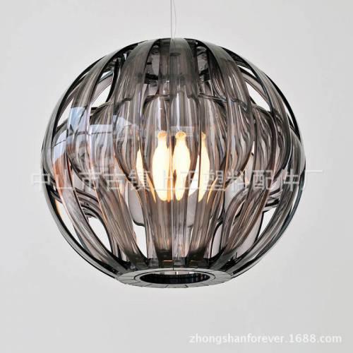 厂家直销 现代简约线条立体圆球压克力吊灯灯罩 095