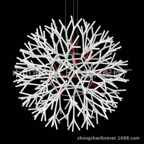 厂家直销 现代简约珊瑚吊灯雪花吊灯灯罩 068S 小号