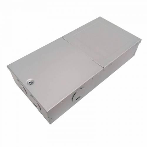 厂家新款出口UL欧美 LED平板灯面板灯电源金属外壳 电解板铁壳