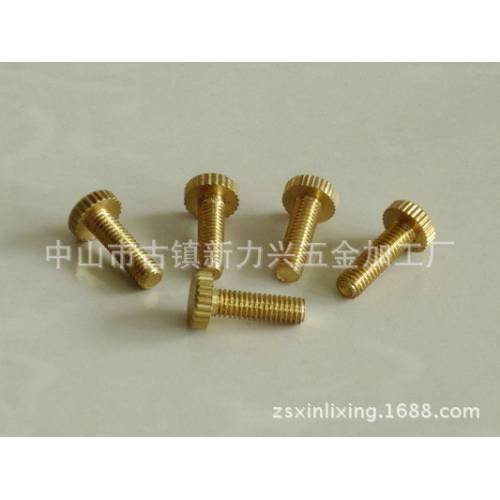 厂家直销铜铁螺钉家私家具灯饰配件铜铁件五金配件可定制