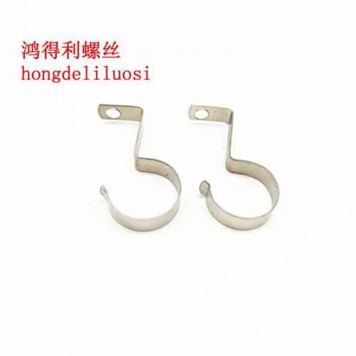 灯饰配件T5T6灯管夹灯管钩普通 加长非标螺钉连接件规格齐全