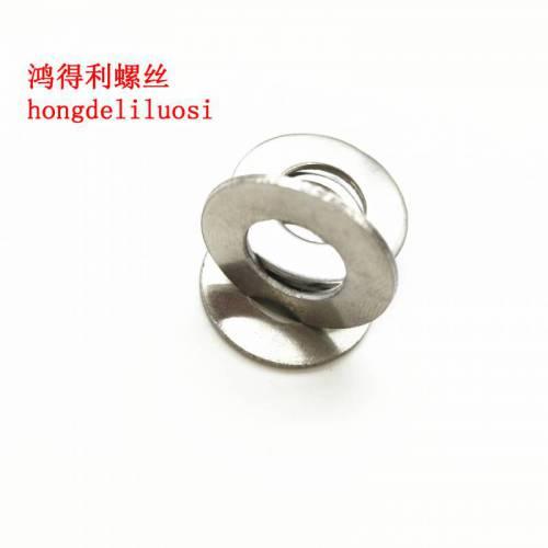 不锈钢平垫 华丝平垫片 不锈钢平垫圈 垫片m4-10大小齐全螺丝