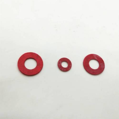 灯饰配件/绝缘介/塑料红纸介/平垫片m3-m10红色规格齐全