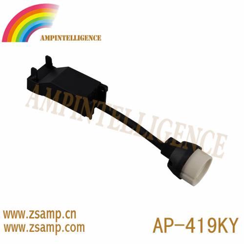 热销款GU10陶瓷带两位高档按压端子台扣压接线盒 AP-419-KY