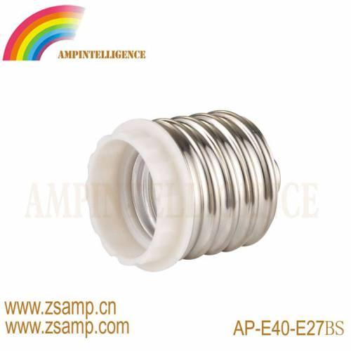 厂家热销 E40转换灯头 E40-E27 转换灯头 白色款 出口供应