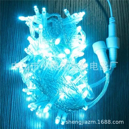 LED灯串 10米100灯户外防水绕树串灯满天星灯圣诞节日装饰灯厂家