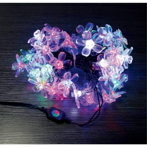 LED灯串樱花瓣 1.9全铜线全防水 质保1年免接电线园林装饰星星灯
