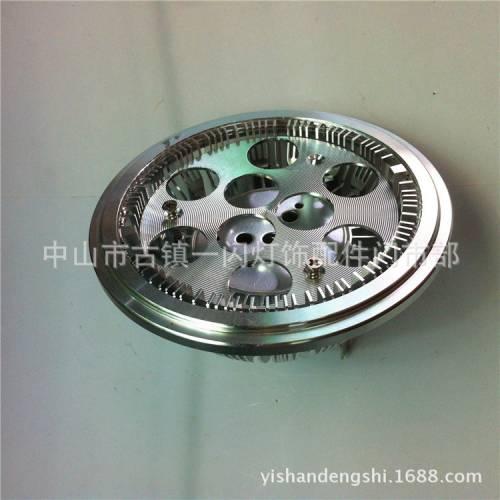 厂价热销车铝 厚料AR111 9W外壳    ar111大功率射灯套件