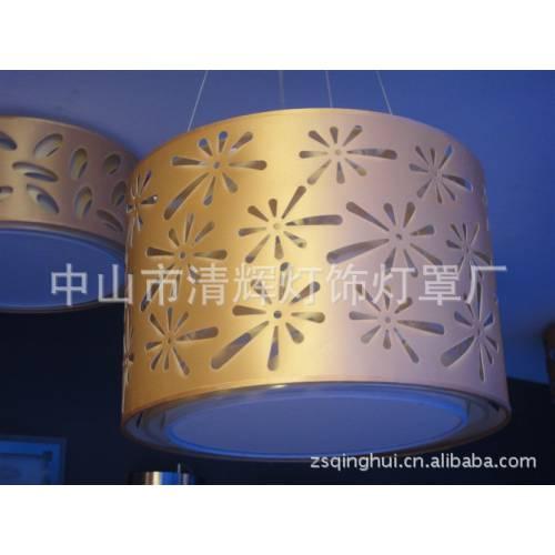 现代水晶灯布灯罩 台灯落地灯吊灯布灯罩 激光雕刻布罩