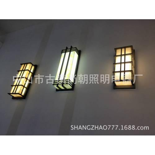 不锈钢仿云石户外壁灯 led墙壁灯室外灯 欧式户外壁灯生产厂家