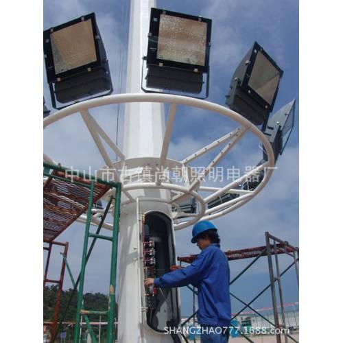 专业户外篮球羽毛球场体育馆灯户外工程照明LED道路高杆灯生产厂