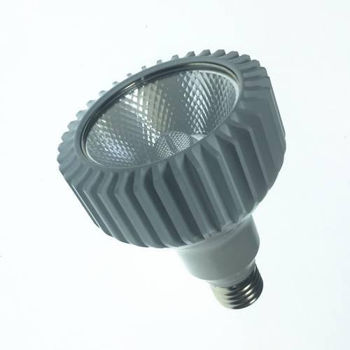 10WPAR30灯杯外壳 COB齿轮铝款24度E27黑色白色9-12WLED帕灯套件