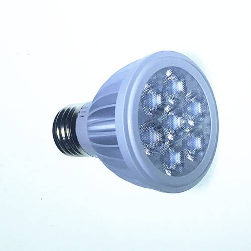 7WLED灯杯外壳 车铝2835贴片白黑色E27GU10GU5.3PAR20射灯套件