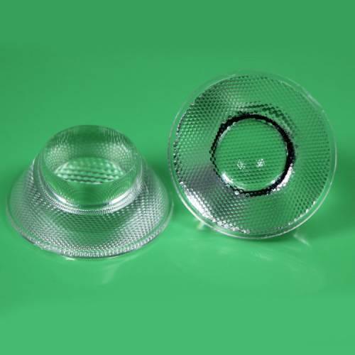 厂家批发透镜 集成 31MM珠面透镜 亚克力单颗 COB透镜