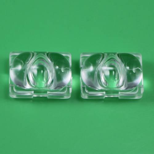 厂家直销led透镜 单颗猫眼光面透镜 亚克力led透镜 LED灯