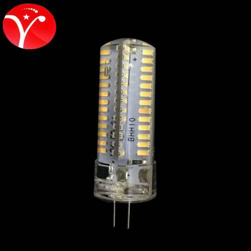 G4 220V 7W 104 珠硅胶灯珠g4灯珠led插脚灯泡LED玉米小灯泡