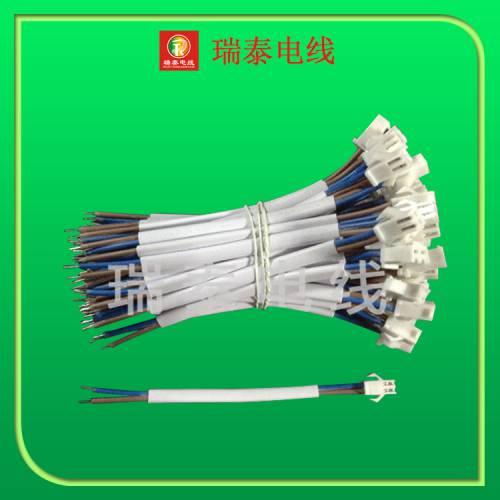 厂家现货 2芯白色扁护套端子线 优质SM母端子线