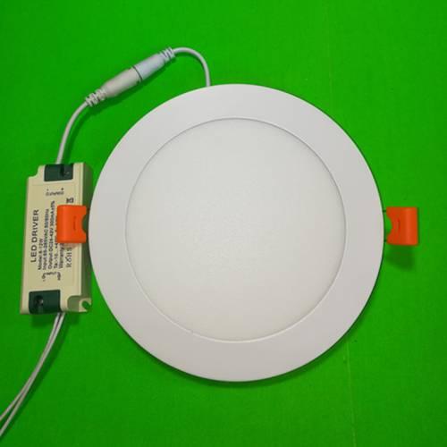 外径200mm新款防漏光LED超薄圆形面板灯15w嵌入式成品整灯
