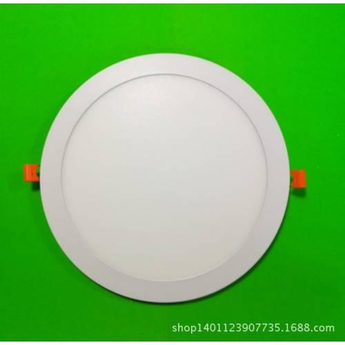 LED超薄圆形面板灯 15w 外径200mm 嵌入平板灯套件 防漏光款