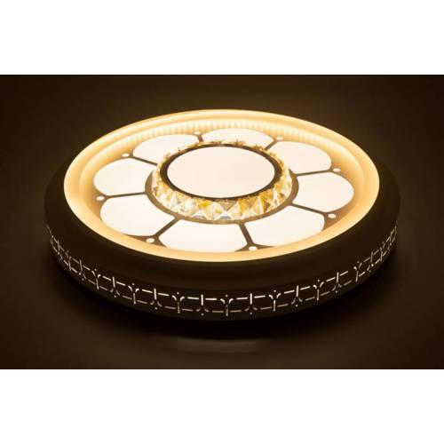 新款时尚现代简约led吸顶灯圆形卧室灯客厅灯模组替换光源亚克力