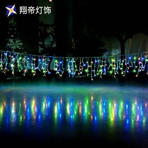 LED闪泡灌胶冰条灯节日装饰灯圣诞灯饰灯光节灯展装饰 灯具直销