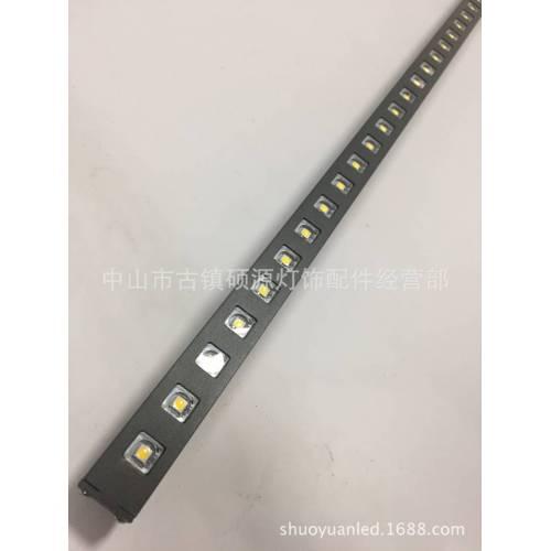 LED小功率线型洗墙灯外壳防眩光洗墙灯外壳套件洗墙灯线条灯外壳