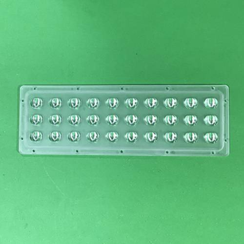 直销30W连体透镜偏光B2家用户外路灯透镜多用途做工精良连体透镜
